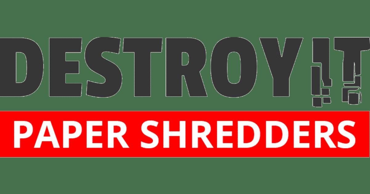 Destroyit Shredders